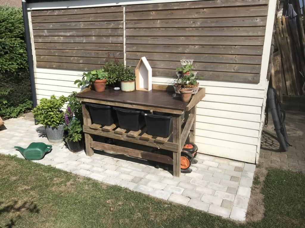 mancave.dk gardening planter table